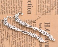 FREE SHIP Wholesale 2pcs Tibetan Silver Tendrils Bookmarks 81X20MM Z54