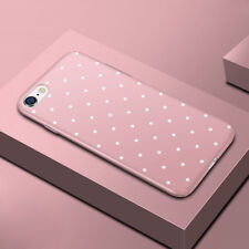 Shockproof Soft TPU Silicone Polka Dots Cover Case for iPhone 8 Plus 6 6s 7Plus