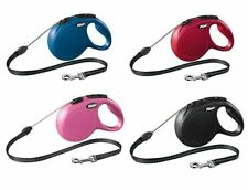 New Flexi Classic LONG Retractable Dog Leash for S M Size 8m 26ft All Colors