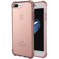 iPhone 8 Plus Case Soft TPU Shock Absorption Bumper Technology Pink