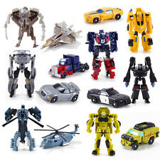 Mini Classic Transformation Plastic Robot Cars Action Figure Toys kid Toy Gifts