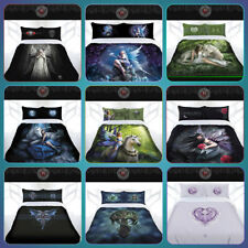 ANNE STOKES Gothic Dragon Fairy Unicorn Quilt Doona Cover Set DOUBLE QUEEN KING