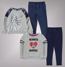 Infant Girls Branded Character 2 Piece Jegging Set Sweater Trousers Age 2-8 Yrs
