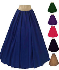 FULL LENGTH SKIRT MEDIEVAL RENAISSANCE CIVIL WAR PIRATE WENCH Comes In 12 Colors