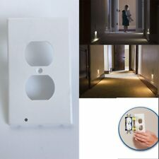 Plug Cover LED Wall Outlet Face Hallway Bedroom Bathroom Safty Light Coverplate