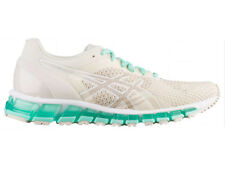NEW WOMENS ASICS GEL-QUANTUM 360 KNIT RUNNING SHOES TRAINERS BIRCH / CREAM / ICE