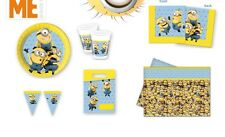 MINIONS Girls Boys Birthday Party Supplies Despicable Me Tableware Decorations