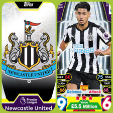 Match Attax 17 18 Newcastle United - Team Cards - Star Player - Club Badge