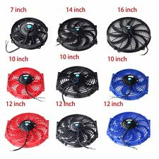 Universal Slim Fan Push Pull Electric Radiator Cooling Choose Your Size & Color