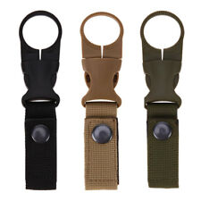 Bottle Buckle Water Clip Holder Carabiner Camping Hook Hiking Outdoor Tactical