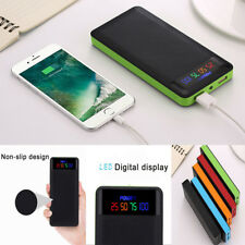 Portable 2.1A USB 4/6*18650 Power Bank Case Kit Battery Charger Box For Phone
