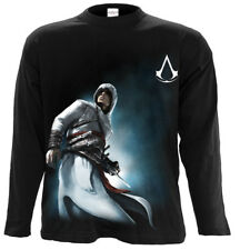 Spiral Altair Side Print, Assassins Creed Longsleeve Black|Blade|Fashion