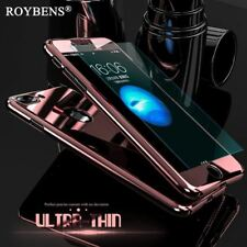 Roybens Luxury Bling Metal Skin Plating Hard Front Back Case For iPhone 6 6S Plu