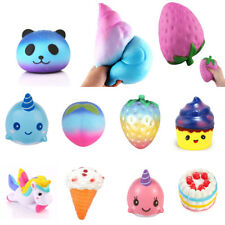 Kawaii Jumbo Squishy Slow Rising Stretch Squishies Stress Relief Kids Funny Toy