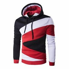 New 2017 Autumn Hoodies Mens Male Hip Hop Male Brand Hoodie Hit Color Stitching