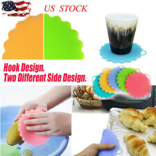 Silicone Multifunction Kitchen Cleaning Brush Washing Sponge scrubber Wash Cloth