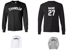 City of Chandler Custom Personalized Name & Number Long Sleeve Jersey T-shirt
