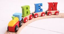 Big jigs Rail wooden train name letters greatprices save on postage