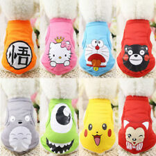Small Pet Dog Clothes Fashion Costume Vest Puppy Cat T-Shirt Summer Apparel 2017