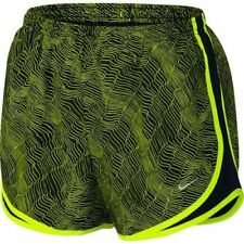 Nike Womens Dri Fit Dry Printed Tempo 2 in 1 Running Shorts Large