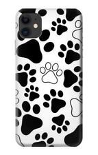 Dog Paw Prints Phone Case for iPhone X 8 7 6 5 4 Plus SE 5c 6s 5s 4s +