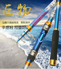 Casting Fishing Rod Travel Pole Boat Bass Carbon Spinning Telescopic Fishing Rod