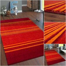 Rug Hand-Woven Gabbeh Carpet High Quality Wool Living Room Striped Mottled Rugs