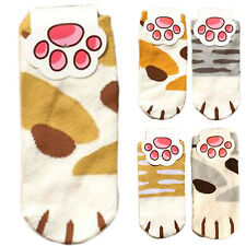 Lady Girls Summer Winter Cartoon Cute Cats Paw Kitty Claws Ankle Short Socks GT