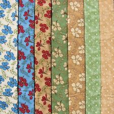 Rjr Cotton Quilt Fabric Charlotte by Debbie Beaves pansy 1 yard each Pattern