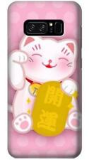 Neko Lucky Cat Phone Case for Samsung Galaxy Note8 Note5 Note 4 3 2