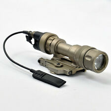 M952v Flashlight(Strobe Version)Tactical Weaponlight With QD Rail Mounted(BK/DE)