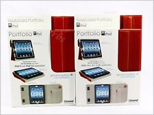 iSound New Genuine Leather iPad and/or iPad Keyboard Portfolio Free Shipping Red