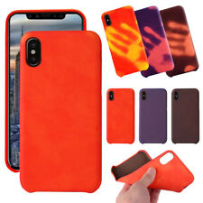 Thermal Heat Sensitive Colour Changing Induction Matte Case Cover For iPhone X