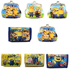 New Cute Despicable Me Minions Coin Purse Boys Girls Kids Party Gift