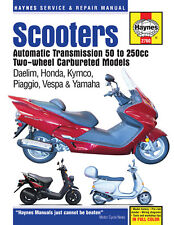 Haynes Repair Manual 2760 Twist and Go Scooters 50cc-250cc Dealim, Honda, Kymco