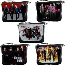 Big Time Rush Personalized Messenger Bags Notebook Sling Text Book School Bag
