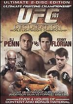 UFC 101: Declaration DVD 2-Disc Set BJ Penn Vs Kenny Florian