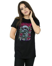 Bullet For My Valentine Women's Red Eye Skull Boyfriend Fit T-Shirt