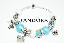 Authentic Pandora Charm Bracelet European Bead New Baby Mom Sterling Silver Gift