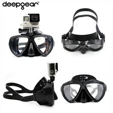 Diving mask to Gopro Hero1,2,3,4 removable camera mount adult silicon scuba mask