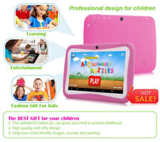 7 Inch Children Tablet Android 5.1 1024*600 Quad Core 512MB RAM 8GB ROM Dual Cam