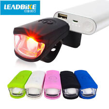 Bicycle Light USB Rechargeable LED Front Bike Light Safe Night Riding Light Lamp