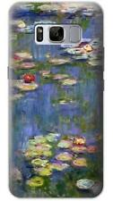 Claude Monet Water Lilies Phone Case for Samsung Galaxy S8 S7 S6 S5 Plus Edge S4