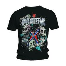 official PANTERA MEN'S TEE: TEXAS SKULL t-shirt new