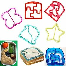 Lunch Kids Sandwich Toast Cookie Cake Bread Biscuit Food Cutter Mold Mould BD