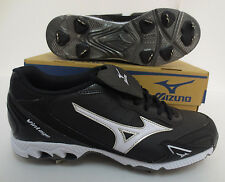 MIZUNO 9 SPIKE VINTAGE G6 LOW BASEBALL CLEATS 320376 9000 MENS NEW SPORTS BLACK