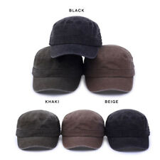 Unisex Mens Womens Vintage Wasing Military Cadet Army Trucker Baseball Hat Cap