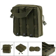 Molle Tactical EDC Utility Tool Bag Medical First Aid Pouch Hunting Tool Pack CD
