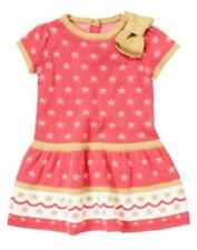 NWT Gymboree Star of the Show Girls Dress Star Sweater 12mo 18mo 2T Toddler