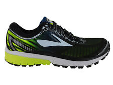 NEW MENS BROOKS GHOST 10 RUNNING SHOES TRAINERS BLACK / WHITE / NIGHTLIFE